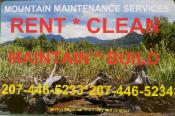 Mountain Maintenance Services